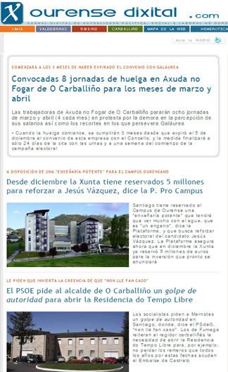 Ourense dixital com remata tras 6 meses de formaci n el for Oficina empleo ourense