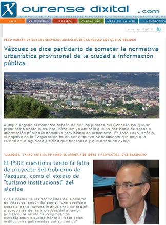 Ourense dixital com los 20 d gitos el 20 los comedores - Comedores escolares xunta ...