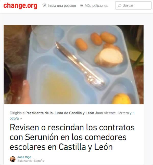 Ourense dixital com m s de de sanci n impuso - Comedores escolares castilla y leon ...